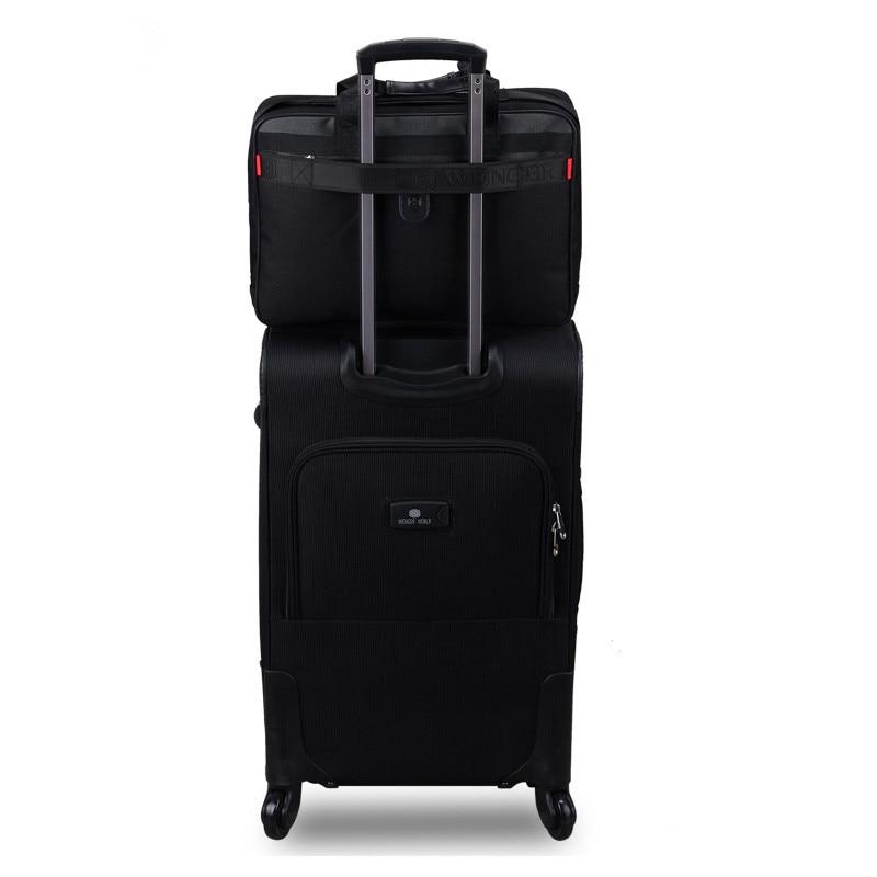 18 20 22 24 26 28-inch foto's commerciële trolley-bagagesets op - Trolley en reistassen - Foto 2
