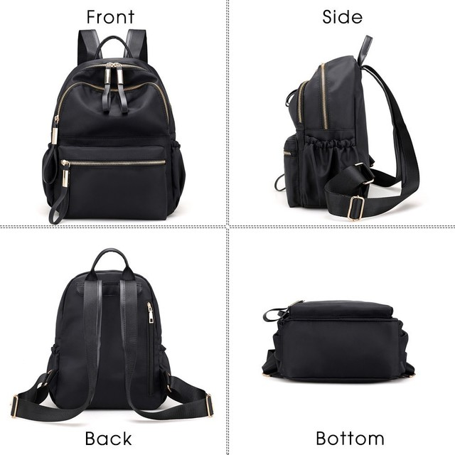 Herald Fashion Backpack Women Leisure Back Pack Korean Ladies Knapsack Casual Travel Bags for School Teenage Girls Bagpack 3
