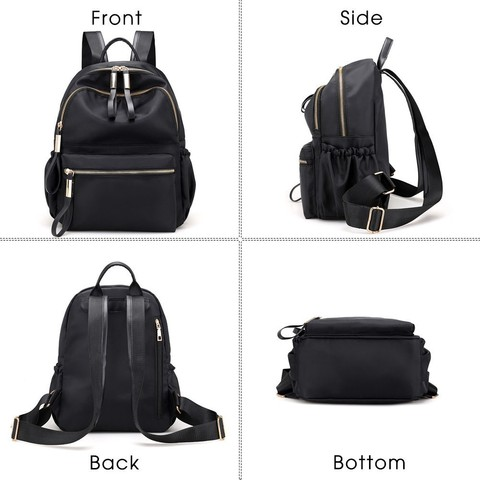 Herald Fashion Backpack Women Leisure Back Pack Korean Ladies Knapsack Casual Travel Bags for School Teenage Girls Bagpack Islamabad