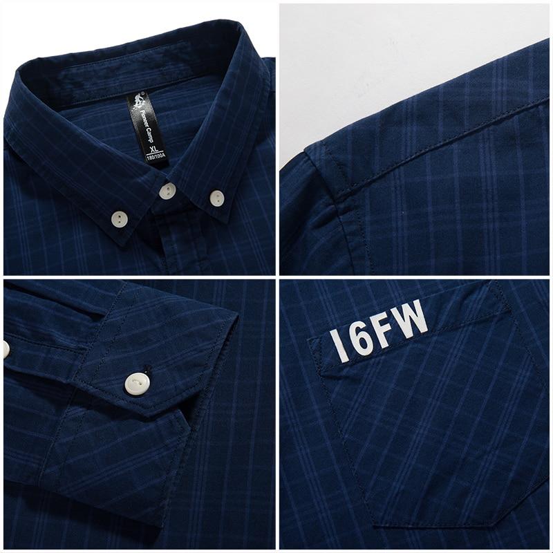 Pioneer Camp chemise à carreaux hommes manches longues nouvelle - Vêtements pour hommes - Photo 5