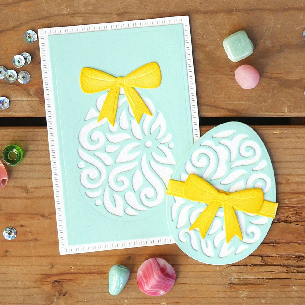 MINI EASTER EGG DIE CUTS FOR CARD TOPPERS