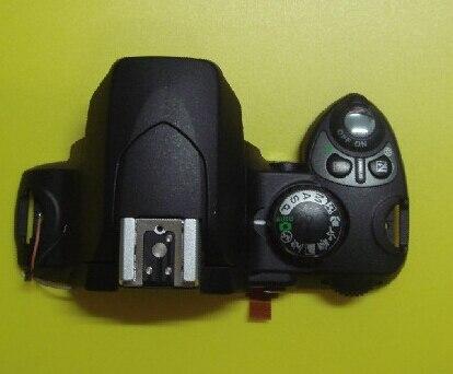 95% NEW Original LCD capot Supérieur/tête Flash Couverture Pour Nikon D40 D40X Numérique Camera Repair Partie