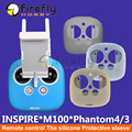 Controle remoto caixa de proteção resistência à sujidade antiderrapante silicone capa para dji fantasma 4/pro/3 inspire 1