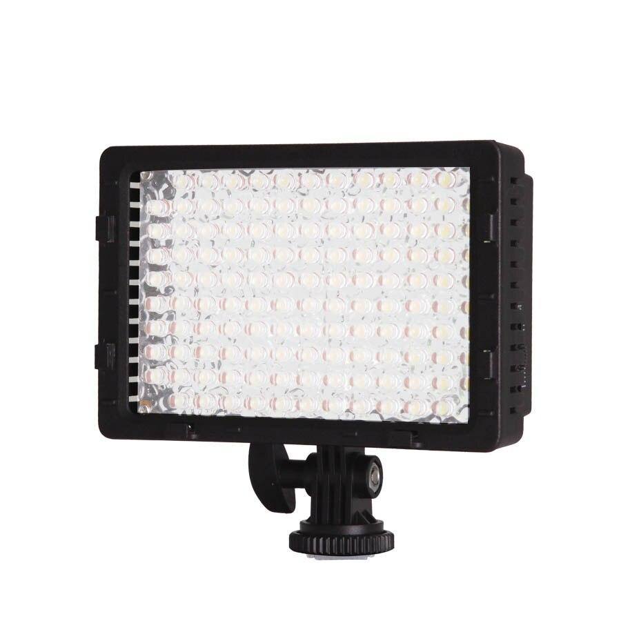 CN-126 Ultra haute puissance 126 LED panneau de lumière vidéo Dimmable lampe photographie Studio éclairage pour caméra caméscope vidéo numérique