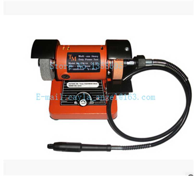 Grinding Machine with shaft ,Benches Lathe Motor,Polishing Machine,Wholesale Buffing Motor,abrasive machine bench grinder polishing and buffing machine motor with flex shaft attachment and wheels 1 8 hp