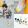 3 pairs/lot Pure Cotton Short Ankle Socks Kid Meias Sping Summer New Patchwork Color Style C323