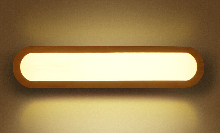 wooden wall lights