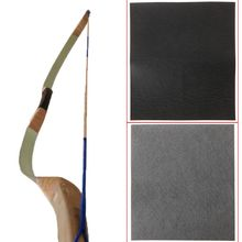 1 Pc  Recurve Bow Traditional And Arrow Leather Arm Guard Wrapped Faux Toeskin Handle Wrapper