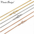 Vinnie Design Jewelry tainless Steel 80cm Link Chain for My Coin Pendant Floating Locket