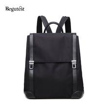 Begutest Японии и корейский стиль рюкзак дорожная Модные женские рюкзаки молния элегантный дизайн женские рюкзак Оксфорд-рюкзак