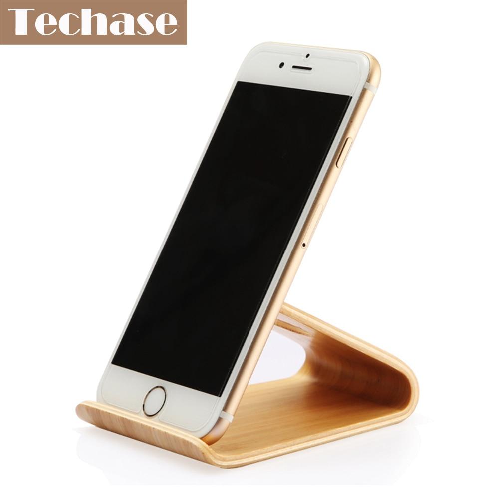 Comprar titular de teléfono móvil de madera para accesorios de - Accesorios y repuestos para celulares - foto 2
