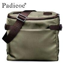 Padieoe Deluxe Высокое качество оксфорды мужские сумки деловые мужчины плечо сумки дорожные сумки повседневные прочные Водонепроницаемый сумки