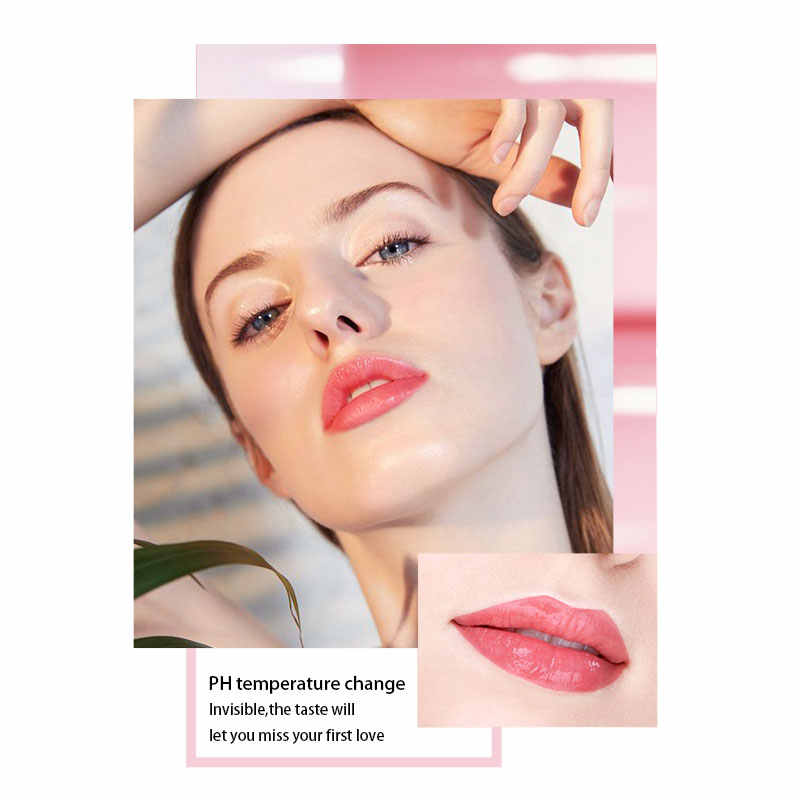 MIXDAIR bálsamo de labios temperatura lápiz labial cambio de Color higiene hidratante larga duración Anti envejecimiento cuidado de los labios