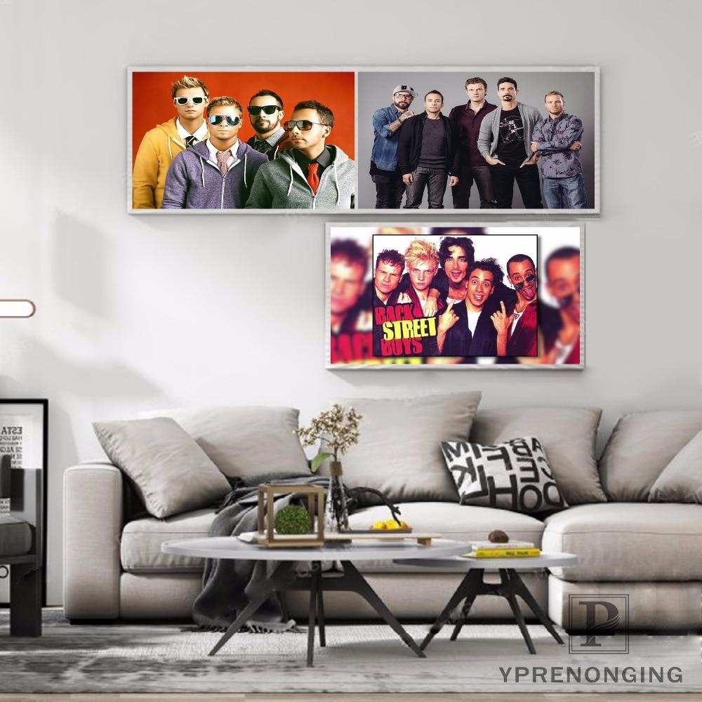 Custom Backstreet Boys Silk Poster Wall Decor