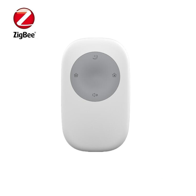 Big Discount Zigbee Smart Alarm Remote Controller With Arm ,home Arm, Disarm, SOS Panic Button 4 Kind Of Function
