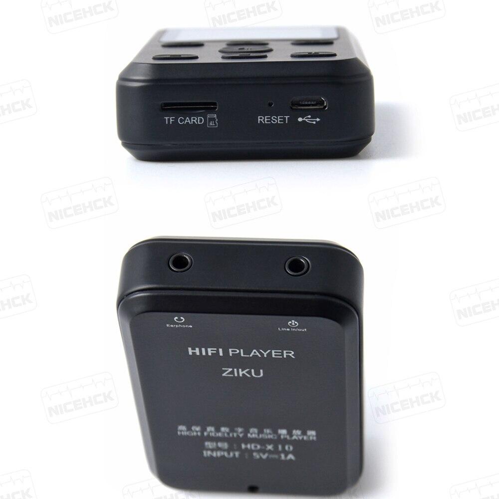Ziku HD X10 pro mp3 alta fidelidade