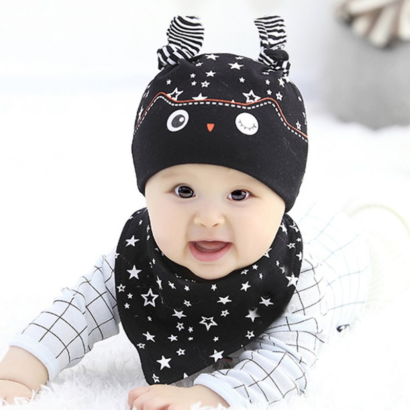 Detail Feedback Questions about 2017 Cute Toddler Child Baby Boys Girls  Sleep Hat Cap+Saliva Towel Triangle Head Scarf Set on Aliexpress.com  6a93cffccf9