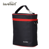 Insular Insulation Bags Brand 420D Nylon Baby Feeding Bottle Changing Bags Thermal Bottle Bags Baby Cooler