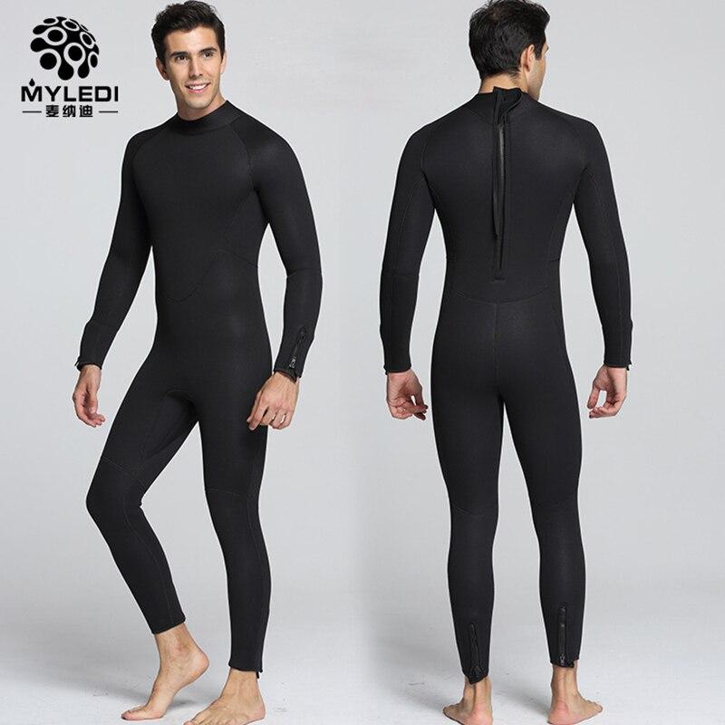 Myledi 5mm Neoprenos neopreno buceo ropa snorkeling chaqueta Esmaltes de  capa superior alta Elastic spearfishing kite surf windsurf Bañadores en  Trajes de ... b3a226ce586