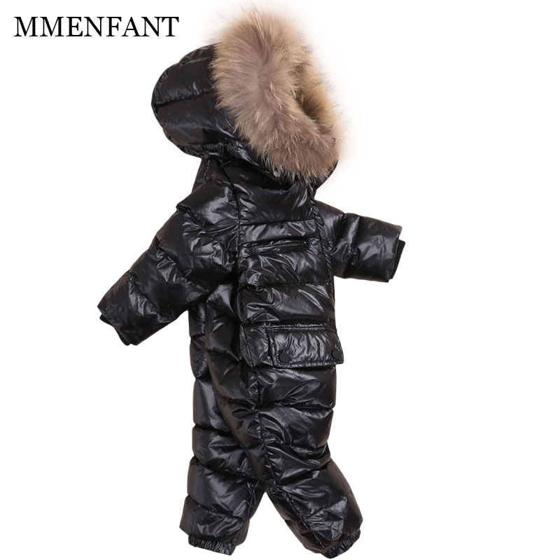 2017 winter Warm coats baby girl boy Snowsuit down jackets baby Rompers hoodies Newborn overalls clothes kids children jumpsuit baby down hooded jackets for newborns girl boy snowsuit warm overalls outerwear infant kids winter rompers clothing jumpsuit set