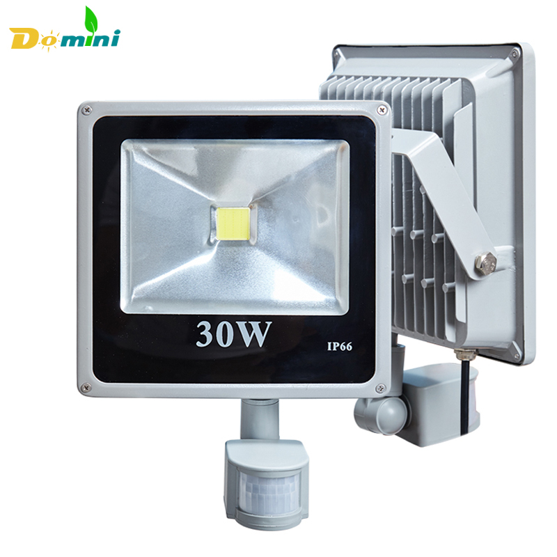 led flood outdoor floodlight lamp 30w 50w 100w pir led flood light