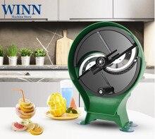 Купить с кэшбэком WINN Manual Slicer Vegetable root cutter Multi-purpose Fruit slicing machine dicer Chipper kitchen ideal helper Alloy blade