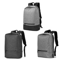Men Anti theft Backpack Laptop School Bag Casual Daypack USB Charging Port