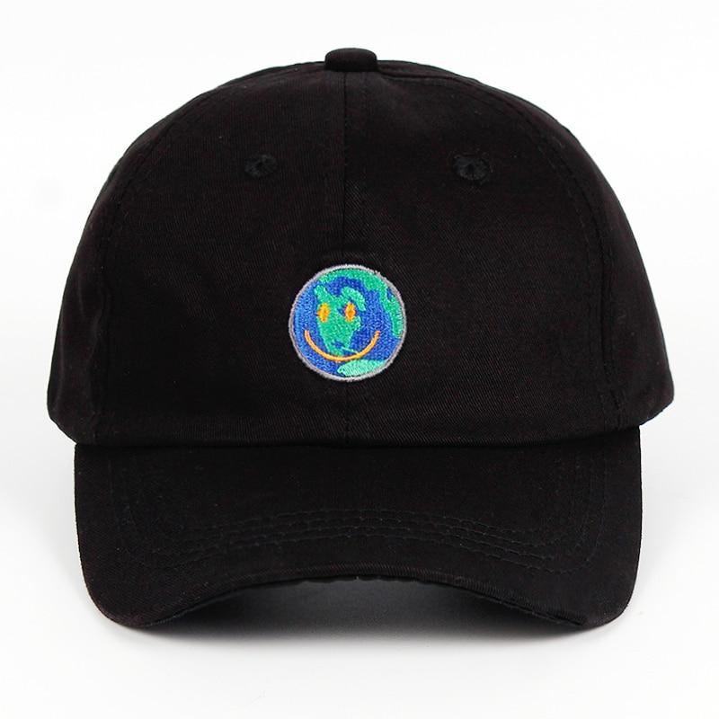 100% Cotton ASTROWORLD Dad Hat Happy Face Travis Scott Latest Album Astroworld   Cap   Travis $cott Embroidery   Baseball     Caps