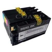Paquete de 4 cartucho de tinta Compatible para HP 950 951 XL OfficeJet Pro 8100, 8600, 8610, 8615, 8620, 8625 251dw 276dw impresora