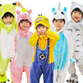 Kids Animal Onesies Panda Dinosaur Pikachu Pokemen Unicorn Christmas Halloween Cosplay Costume Children Boy Girl Winter Pyajamas