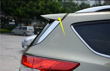 Car Styling!Factory Style Primer Unpaint ABS Aero Spoiler Wing For Ford Kuga 2013 2014 2015