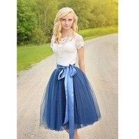 New women's skirts Top Women Tulle TuTu Skirt High Waist Girl Lady Dance Knee Length Custom Girls Skirt