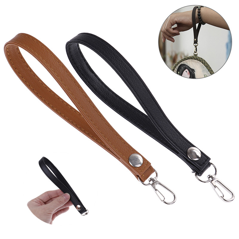 1 Pc 2019 New PU Leather Wristlet Bag Strap Fashion Handle Replacement For Handbag Clutch Purse