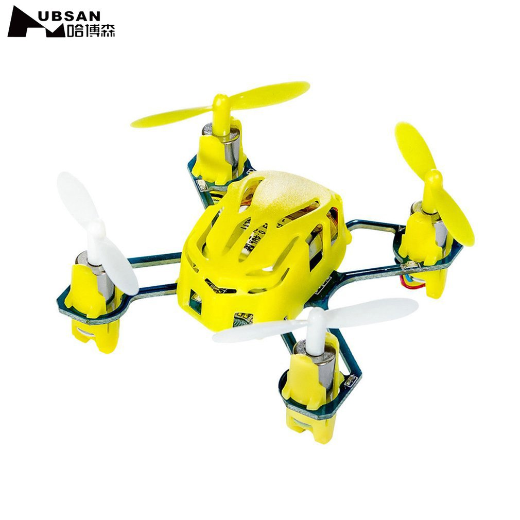 Drone NANO Q4 H111 4-CH 2.4GHz Remote Control Mini Quadcopter Yellow for Hubsan Helicopter mode 2 Professional RC Drone Hot
