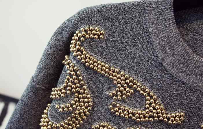 2018 осенне-зимние модные Женский комплект 2 шт. брюки и спортивные костюмы роскошные женские спортивные костюмы с кисточками и бисером