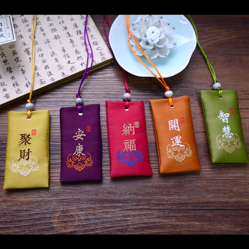 Traditional Kawaii Gift Present China Omamori Good Fortune Well-being 1 Good-luck Charm needham science in traditional china pr only