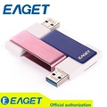 EAGET F50 USB 3.0 Высокоскоростной Памяти Внешняя Память 16 ГБ 32 ГБ 64 ГБ 128 ГБ Металлический Водонепроницаемый Флешки Флэш-Накопитель 32 г На Продажу