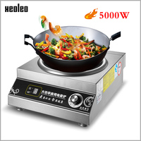 XEOLEO 5000W Concave Induction cooker Electromagnetic Stove Stainless steel Electromagnetic furnace Electromagnetic Cooker|Induction Cookers|   -