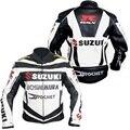 Dropshipping al por mayor de trajes De carreras de Motos Suzuki Jaket off-road de carreras de motos chaqueta de traje de chaqueta de cuero