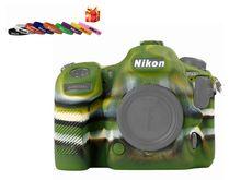 D500 корпус камеры чехол, крышка камеры защитный силиконовый резиновый чехол, для Nikon D500-черный