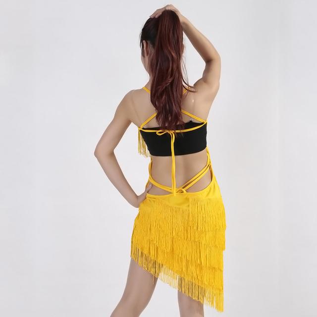 Black fringe outfit for women