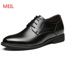 MEIL genuine Leather Shoes men Formal Male dress Shoes Designer Slip On Business Italian Formal mens Oxfords wedding shoes italian mens fashion oxfords shoes 2018 spring autumn wedding slip on oxfords martin shoes real leather dress tuxedo shoes