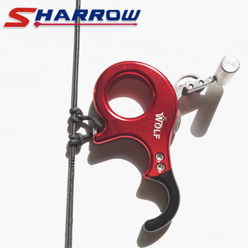 Sharrow Compound Bow Release 3 Fingers/4 Fingers Free Exchange Trigger Release Stainless Steel Release Grip for Compound Bow фото