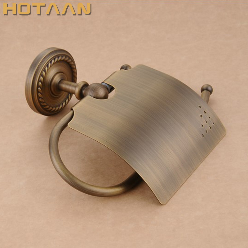 Free Shipping,Antique Brass Finish  Solid Brass toilet paper holder bathroom accessoreis toilet paper holder YT-12292Free Shipping,Antique Brass Finish  Solid Brass toilet paper holder bathroom accessoreis toilet paper holder YT-12292
