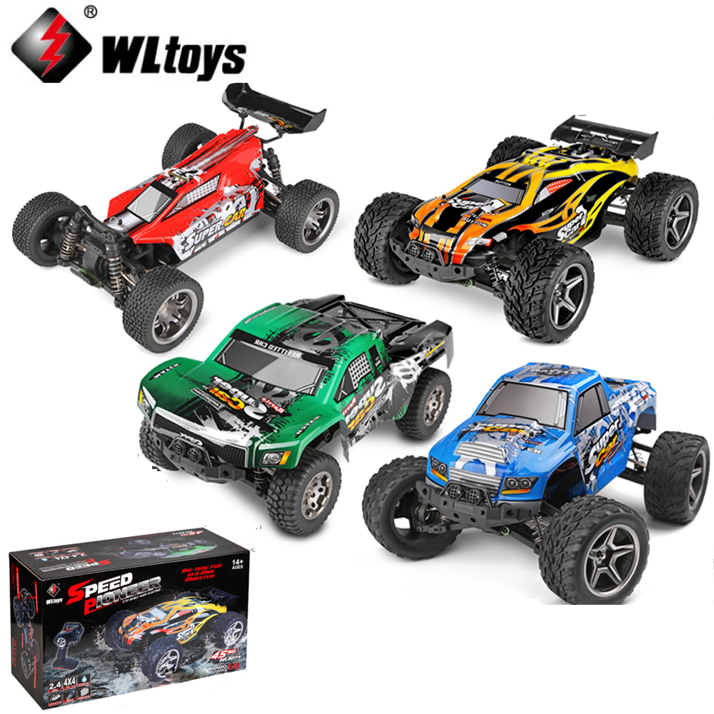 WLtoys 12401 12402 12403 12404 2.4G 1/12 4WD remote control drift Off-road car Bigfoot car Short Truck competition racing car цены
