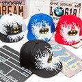 2017 new Snapback Caps Gorras Unisex Kids Hip-hop Snapback Batman Baseball Cap Children Adjustable Sports Flat Hats