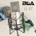 БЛА B-U87 Студия Записи Конденсаторный Микрофон Для Неймана U 87 Ai СТИЛЬ Схемы Компьютера Вещания С Ударными Горы Подставкой
