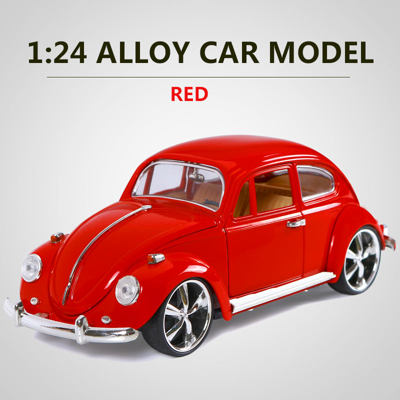 mz 118 scale pull back alloy diecast metal vintage classic car model pull back toy car model car kids toys car gift collection
