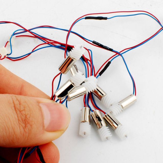 30 Pcs 4 8mm Coreless Dc Motor Super High Sd 3v 60ma 70000rpm 0408 4035 For Rc Helicopter Aircraft