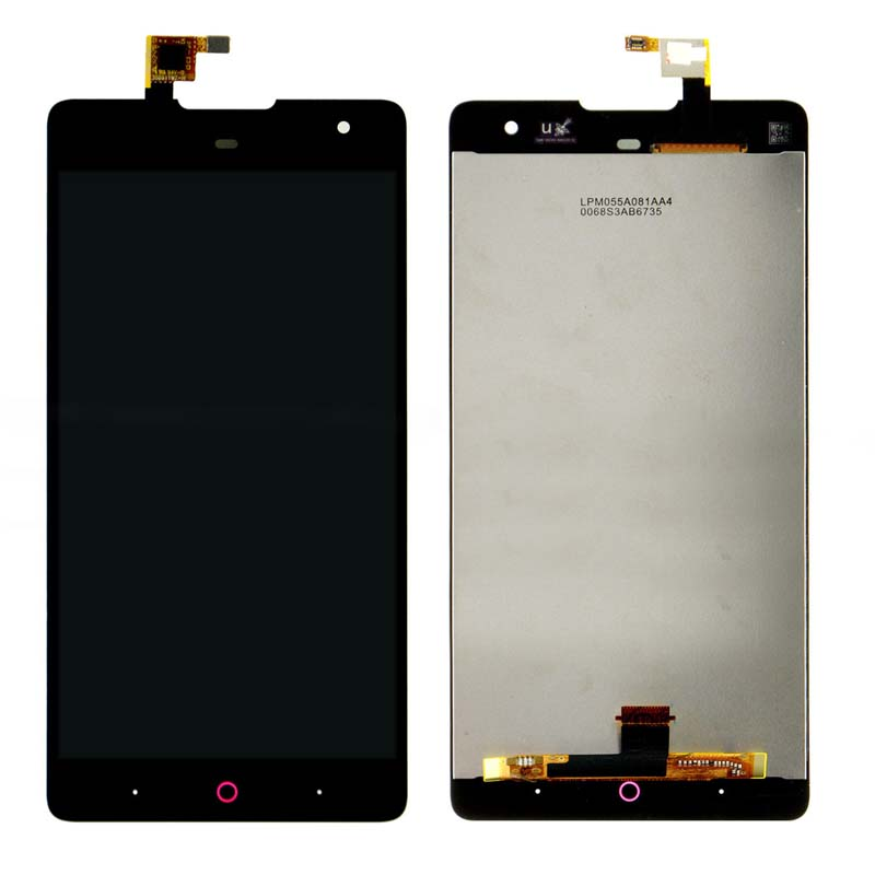 Black LCD Display + Touch Screen Digitizer Assembly Replacements For ZTE Nubia Z7 Max NX505J Free Shipping 5pcs lot100% new original for zte grand memo 5 7 n5 u5 n9520 v9815 lcd display touch screen assembly free shipping 100% tested